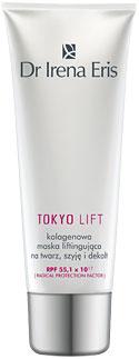Dr Irena Eris Tokyo Lift - Kolagenowa maska liftingująca na twarz, szyję i dekolt