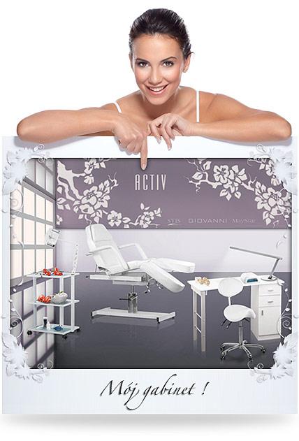 wyposażenie gabinetu, salonu kosmetycznego